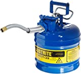 Justrite AccuFlow 7220320 Type II Galvanized Steel Safety Can with 5/8