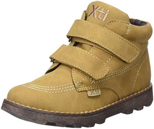 XTI Botin 53333 - Stivali Unisex - bambini, Marrone (Cammello), 29