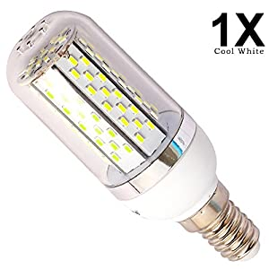 Cool White LED E14 120 SMD 3014 Corn Bulbs E14 LED Lamps Replacement LED Light Bulbs 8w from QUESTWAY