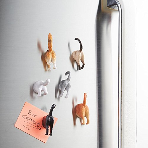 cute! cat butt refrigerator magnets