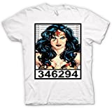 Wonder Woman - Cartoon - Mug Shot T Shirt