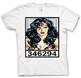Wonder Woman - Cartoon - Mug Shot T Shirt