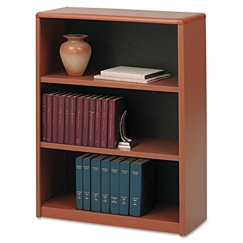 Safco Products 7171CY ValueMate Economy Bookcase, 3-Shelf, Cherry Safco 3 Shelf Bookcase
