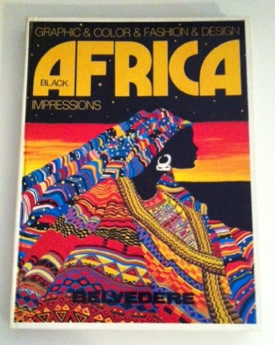 Black Africa. Grafic & color & fashion & design