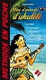 Music en Poche, N° 53 : Dico d'accords Ukulele