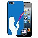 iPhone 5 & 5S Humor Other Gun Colorful of Hallowmas Gift Black Case For Lady