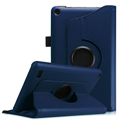 fintie-fire-7-2015-case-premium-pu-leather-360-degree-rotating-cover-swivel-stand-for-amazon-fire-7-