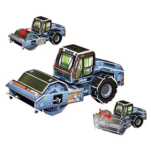 Jigsaw 3D Puzzle Transportation Series - Roller