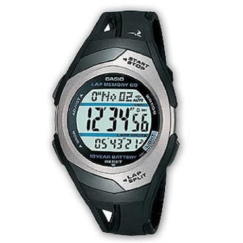 Casio STR-300C-1VER Unisex Sport Runner's Watch
