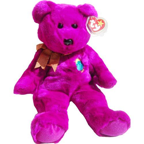 MILLENNIUM the 2000 Magenta Teddy Bear - MWMT