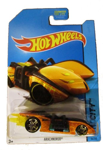 Hot Wheels 2014 Hw City Street Beasts Orange Arachnorod 54/250