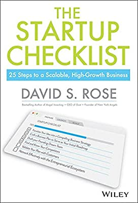 The Startup Checklist: 25 Steps to a Scalable, High-Growth Business