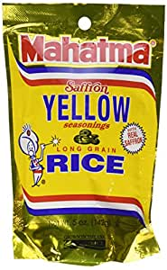 Amazon.com : Mahatma Saffron Yellow Rice and Seasonings 5
