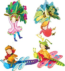 Floating Fairies, set of 4