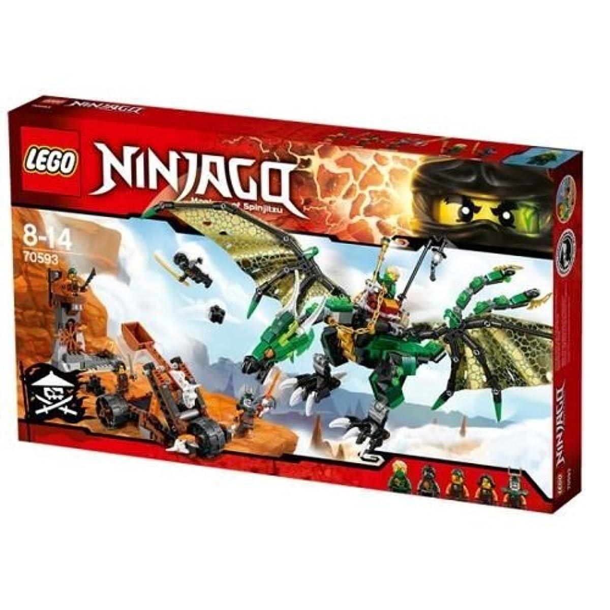 [해외] 레고 (LEGO) 닌자고 그린 닌자(로이드)의 element드래곤 70593-70593 (2016-06-03)