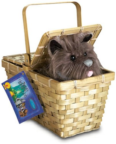 Toto with Basket - Costume Accessory