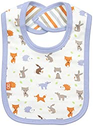 Magnificent Baby Baby-Boys Reversible Bib, Woodland Origami, One Size