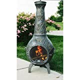 Butterfly-Cast-Metal-Chiminea