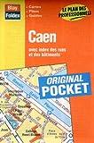 echange, troc Plans Blay Foldex - Plan de ville : Caen (avec un index)