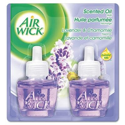 Air Wick - Scented Oil Refill Lavender & Chamomile .67Oz 2/Pack Product Category: Breakroom And Janitorial/Cleaning Products