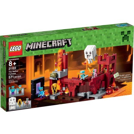 LEGO Minecraft The Nether Fortress Model#21122 (Minecraft Model compare prices)