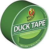 Duck Brand 1304968 Color Duct Tape, Green, 1.88-Inch by 20 Yards, Single Roll