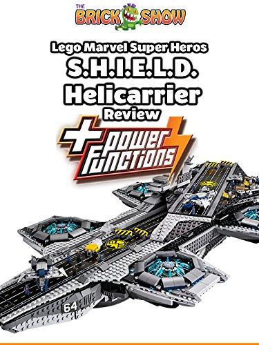 Review: Lego Marvel Super Heros S.H.I.E.L.D. Helicarrier + Power Functions Review on Amazon Prime Video UK