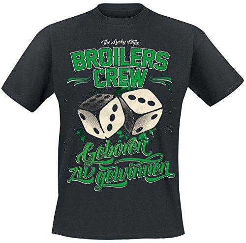 Broilers Geboren zu gewinnen T-Shirt nero XL