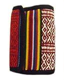 Arcoiris Cartera - Hecho a mano en Nepal - Con estilo, Colorido & Comercio Justo - 100% algodón - Our Rainbow Carteras son hecho en Katmandú, alta en los Himalaya - Vienen tener varios compartimentos a puede cargar banco tarjetas, cambio ...