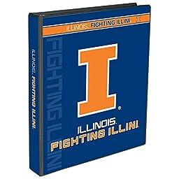C.R. Gibson 3-Ring Binder, Illinois Fighting Illini (C909304WM)