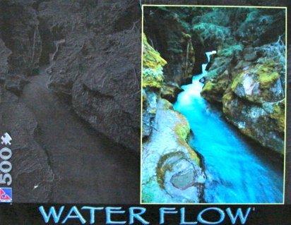 500pc. Water Flow Puzzle-Havasu River Falls