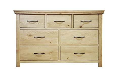 Alcester Oak Bedroom 3 Over 4 Chest