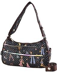 ALONZO Women's Handbag (ALONZO0568, Black)