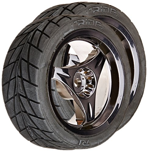 Ride Assembly Radial Tire 3 Spoke, Blue Luster - 1