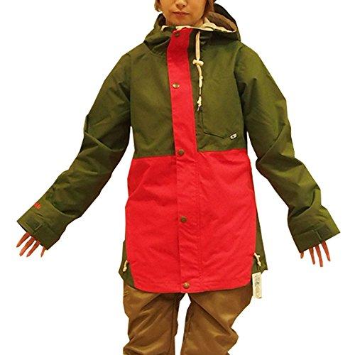 AIRBLASTER(エアブラスター) Una Jacket (エアブラスター) スノーボードウェア Olive/Fire S