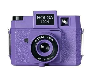 Holga Formally Holgawood Collection Plastic Camera (Violet) (OLD MODEL)