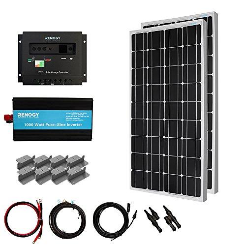 RENOGY® Solar Panel Complete Kit 200W Mono: