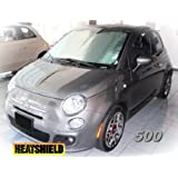 Sunshade for FIAT 500 Coupe or Convertible 2012 2013 2014 2015 HEATSHIELD Windshield Custom-fit Sunshade #1321