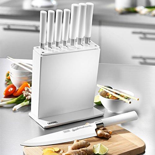 Set coltelli da cucina beem kyu kabu composto da 7 coltelli da cucina racchiusi in un elegante - Set di coltelli da cucina ...