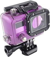 Toughstyreg Side Open Skeleton Camera Protective Housing Case for GoPro Hero 3 w Cover Lens