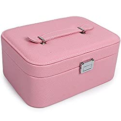 UberLyfe Double Level Jewellery Box cum Organizer - All Color (JB-000979-PKCAN-L_01)