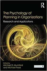 Amazon.com: The Psychology of Planning in Organizations