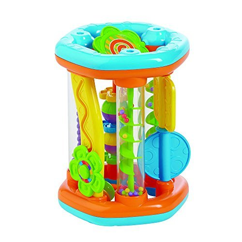 Bruin Roll n Spin Activity Tower