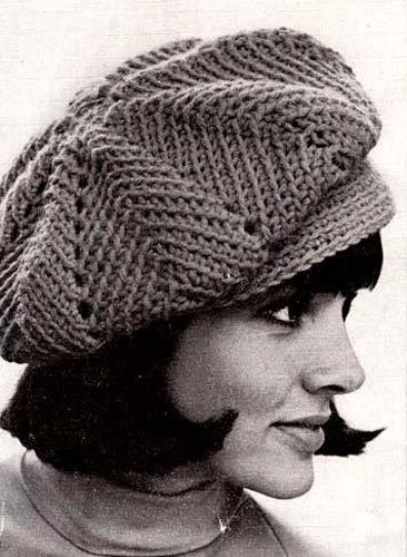 451a80079d1 Ripple Newsie Newsboy Cap Hat Beanie Crochet Pattern