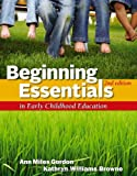 img - for Beginning Essentials in Early Childhood Education book / textbook / text book