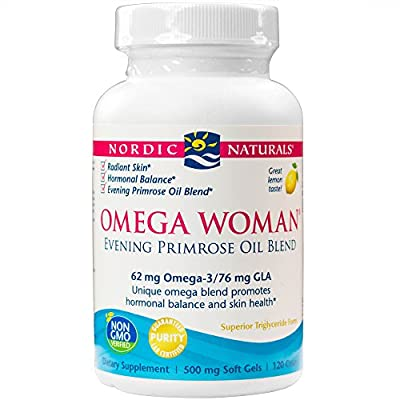 Nordic Pure Nordic Naturals Omega Woman Evening Primrose Oil Blend 120 Ea