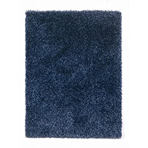 Nordic Denim Cariboo Shag Rug Rug Size: 230cm x 160cm (7 ft 6.5 in x 5 ft 3 in) from Flair Rugs