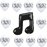 Music Notes Balloon Decoration Party Supplies Kit