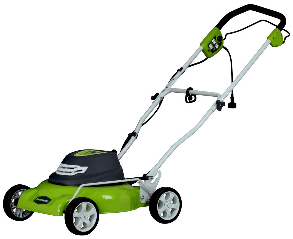 GreenWorks 25012 12 Amp Corded 18-Inch Lawn Mower