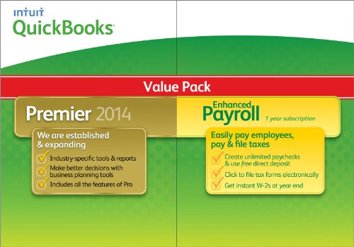 QuickBooks Premier with Enhanced Payroll 2014 [Download]